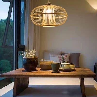 comedor con bambu