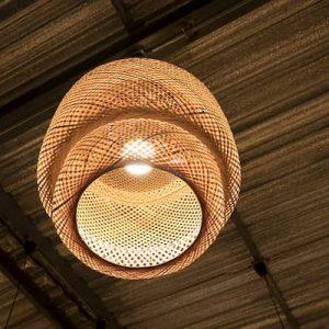 muebles decoración bambú