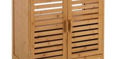 mueble lavabo bambu barato