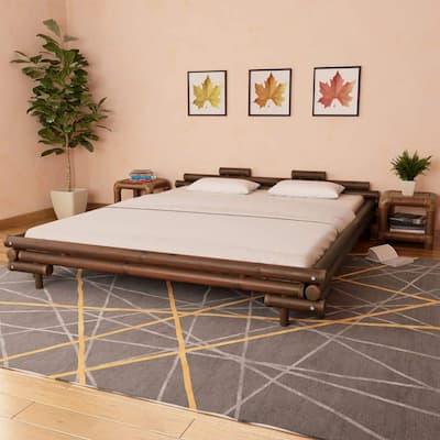 camas con bambú