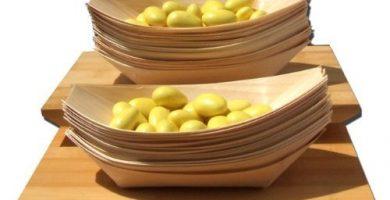 platos de bambu baratos