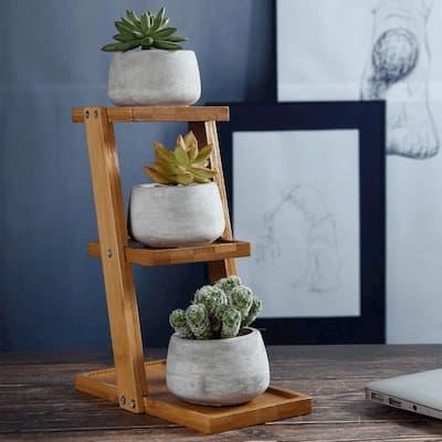decoración articulos bambu