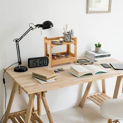 escritorio con bambu