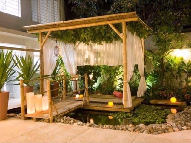 exteriores con bambú