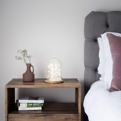 habitación con bambu