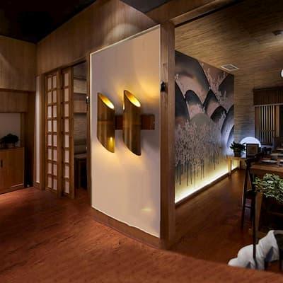 deas decoración con bambu