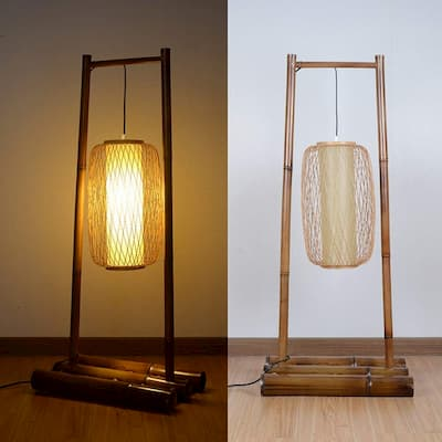 lamparas bambu (